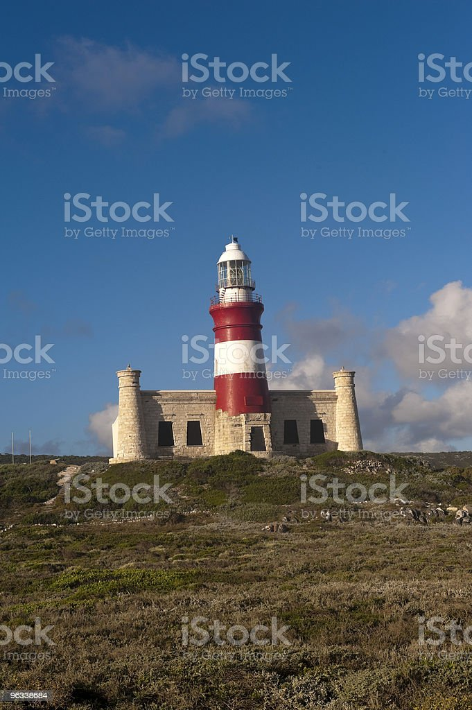 Cape Agulhas, South Africa stock photo