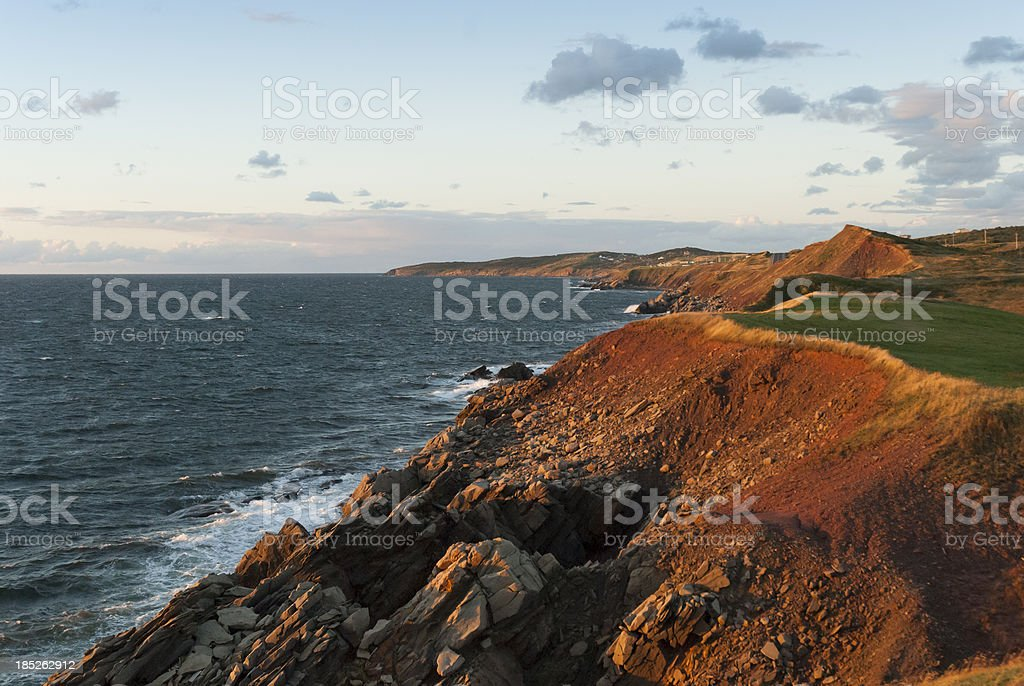 Cape Breton Coastline stock photo