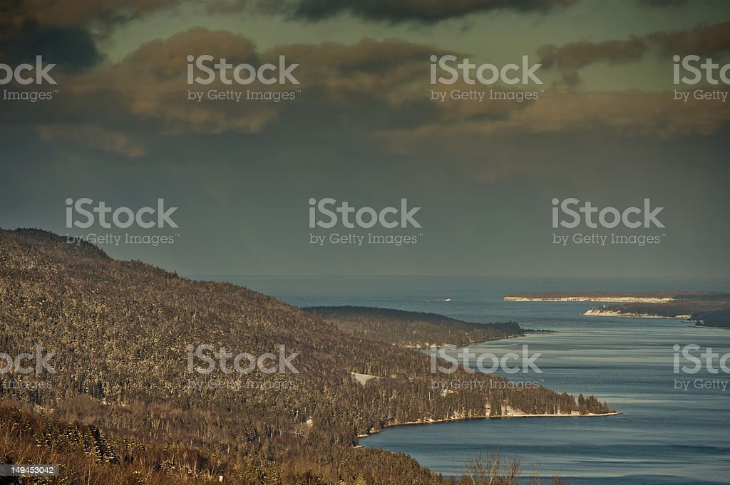 Cape Breton Highlands stock photo