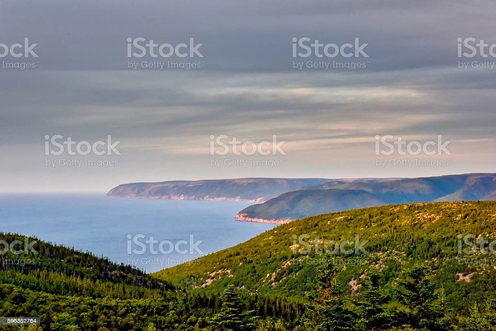 Cape Breton Highlands stock photo