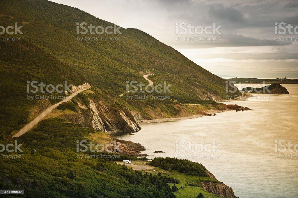 Cape Breton, Nova Scotia stock photo