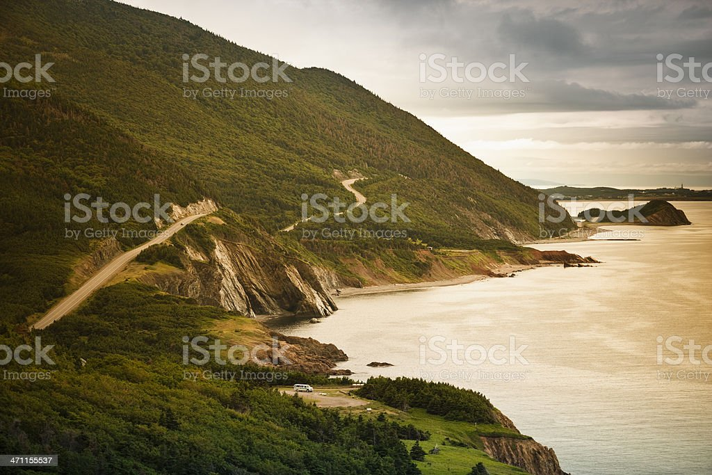 Cape Breton, Nova Scotia stock photo