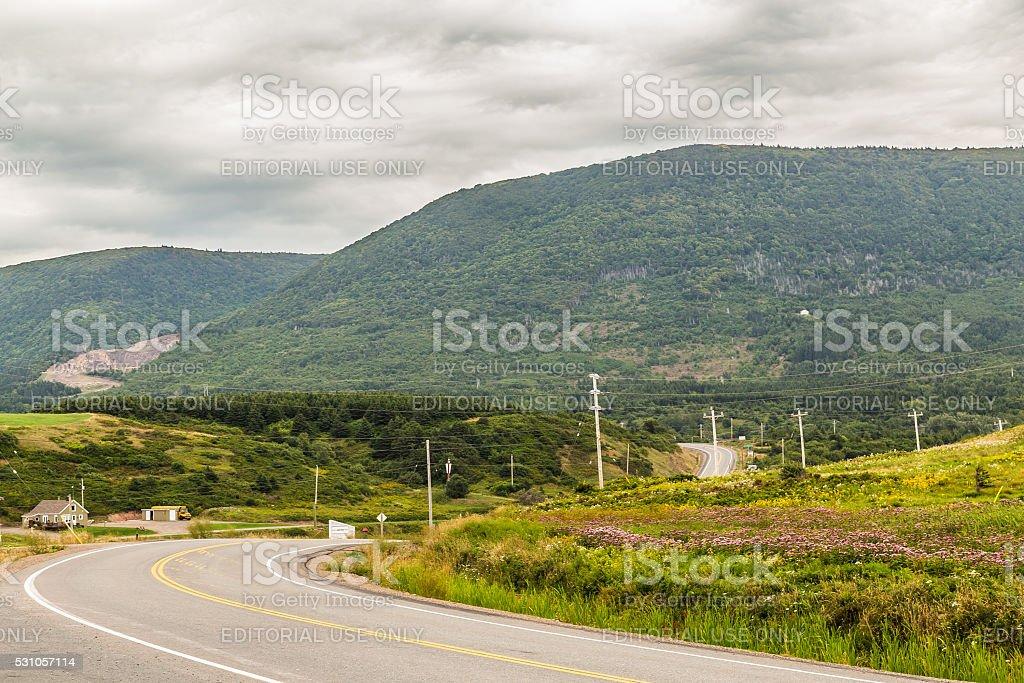 Cape Breton Nova Scotia stock photo