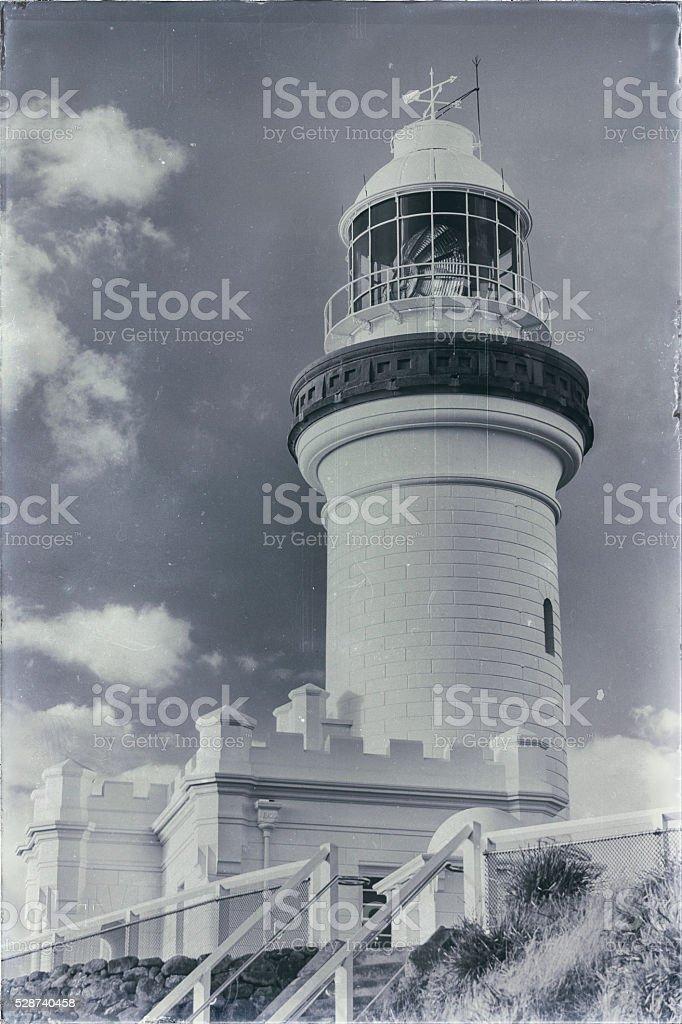 Cape Byron Lighthouse stock photo
