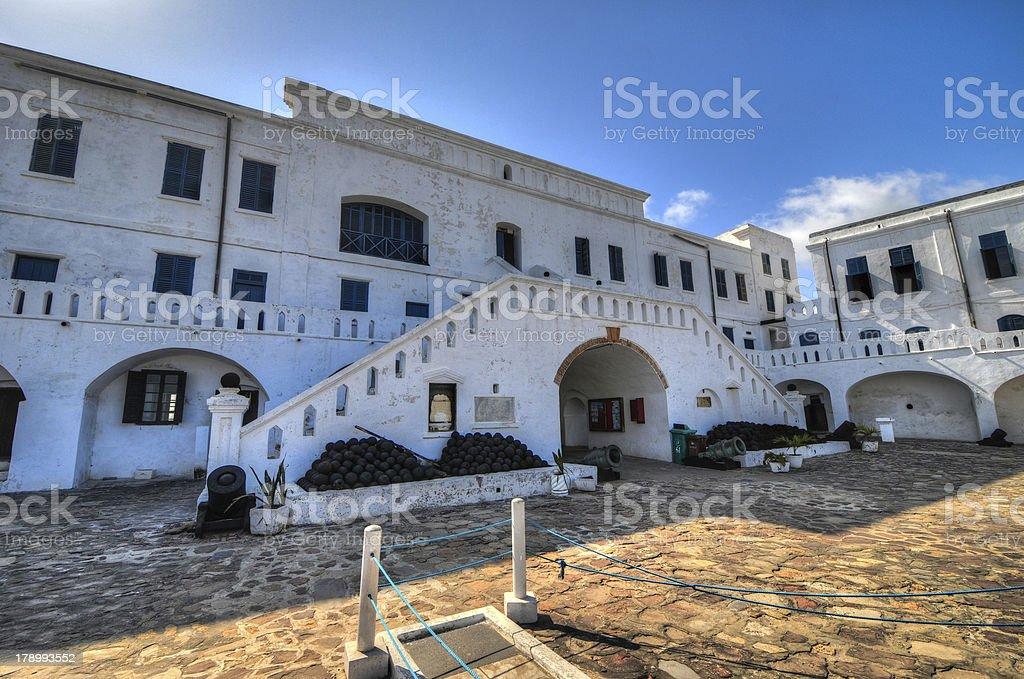Cape Coast Castle - Ghana royalty-free stock photo