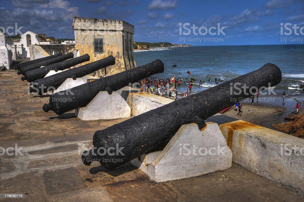 Cape Coast Castle - Ghana stock photo