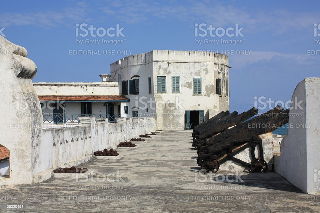 Cape Coast Castle Ghana, West Africa royalty-free stock photo