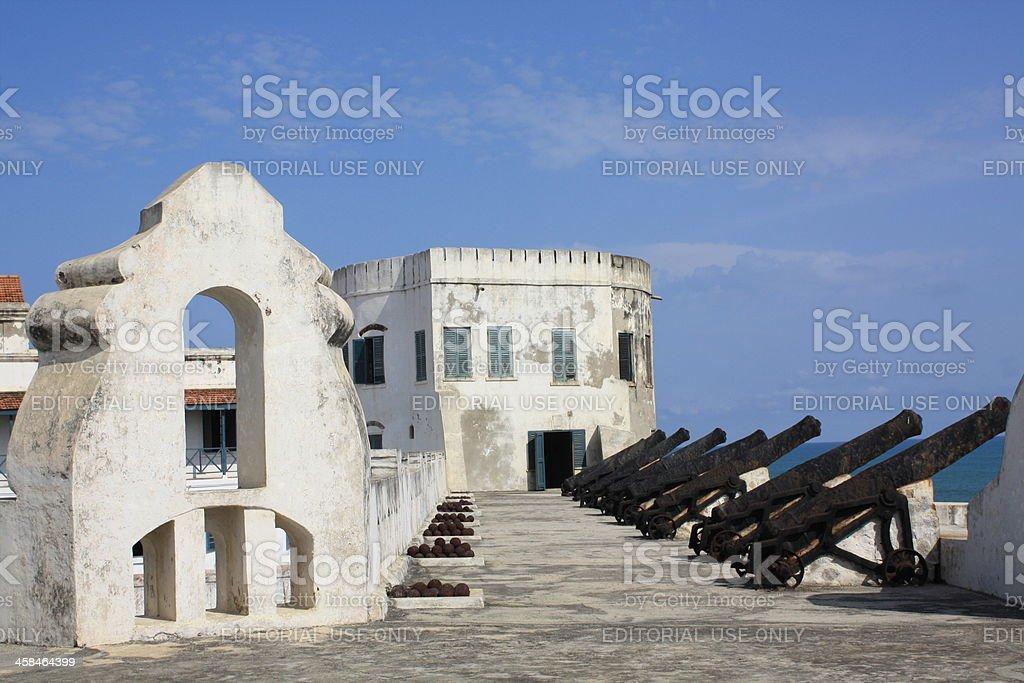Cape Coast Castle Ghana, West Africa royalty-free stock photo