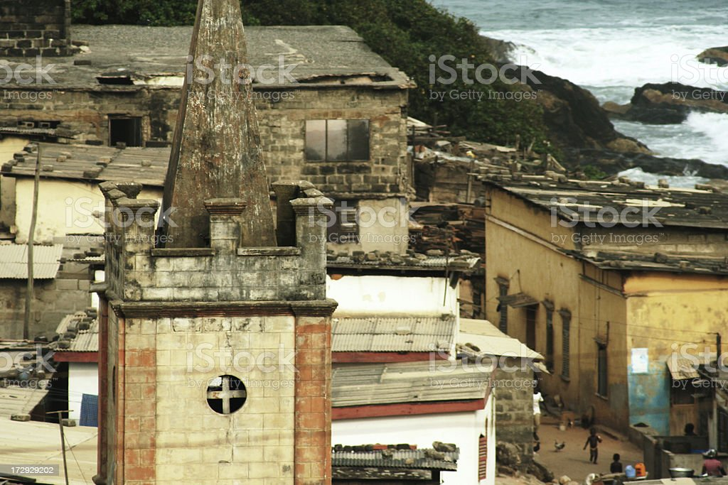 cape coast stock photo