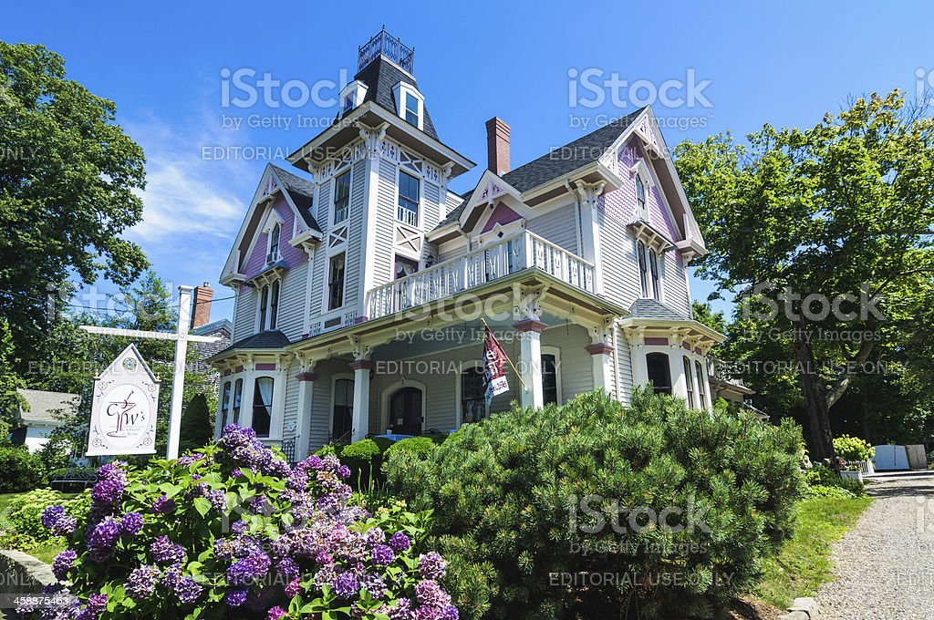 Cape Cod Country Inn stock photo