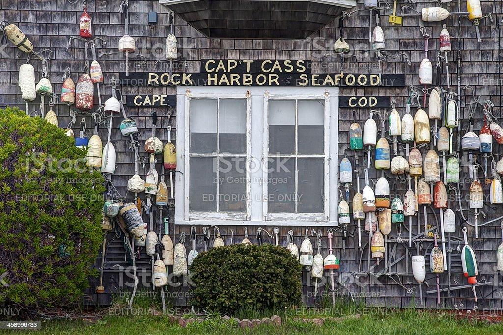 Cape Cod landmark stock photo