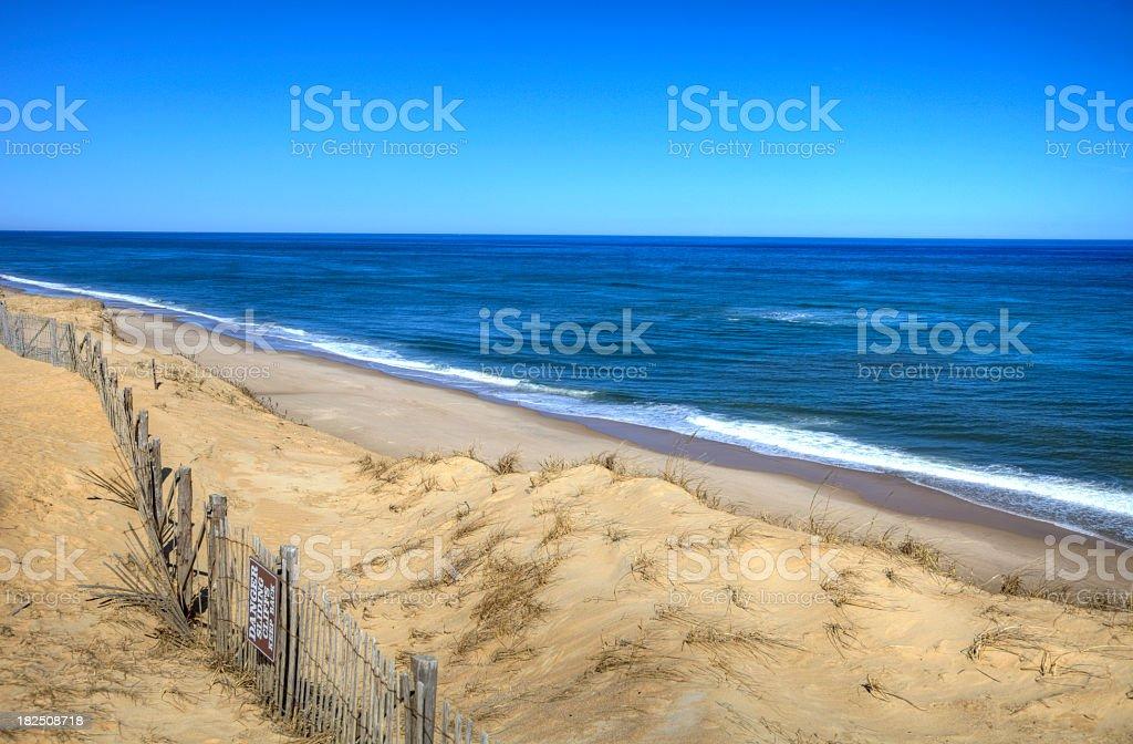 Cape Cod National Seashore royalty-free stock photo