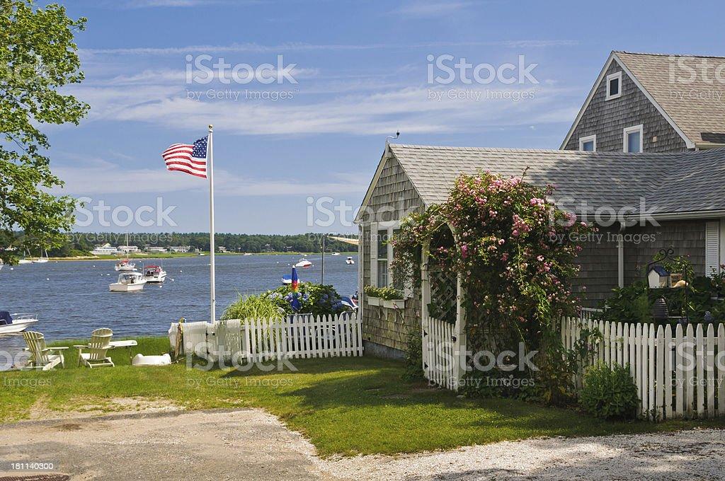 Cape Cod Summer Day stock photo