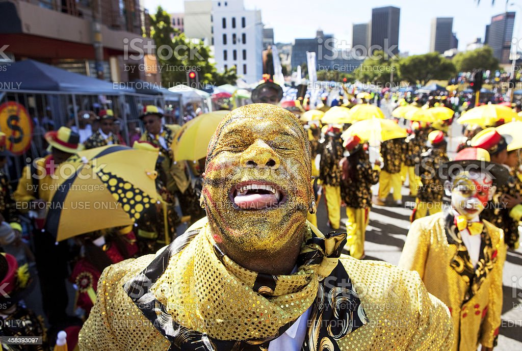 Cape Coon carnival stock photo