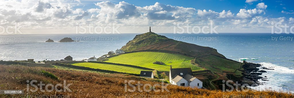 Cape Cornwall England UK stock photo