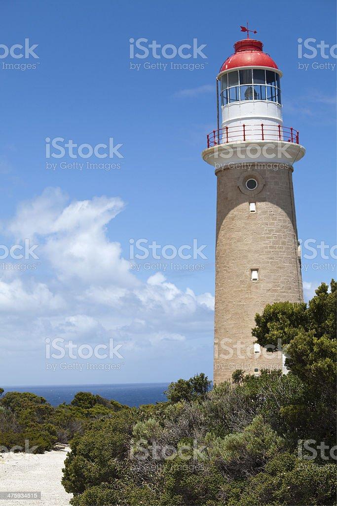Cape du Couedic lighthouse, Kangaroo Island stock photo