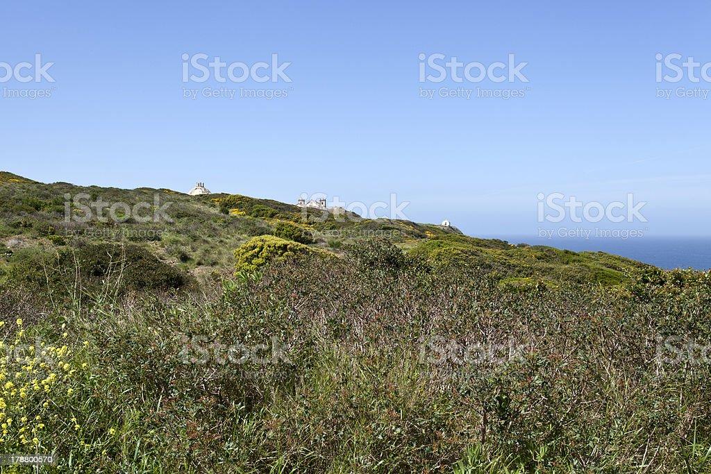 Cape Espichel, Portugal royalty-free stock photo