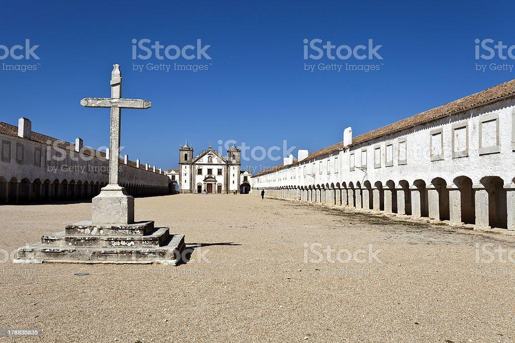 Cape Espichel Santuary, Portugal royalty-free stock photo