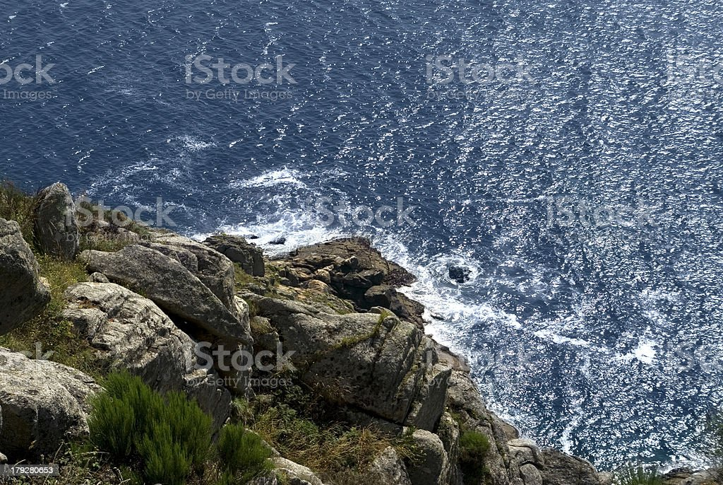 Cabo de Finisterre royalty-free stock photo