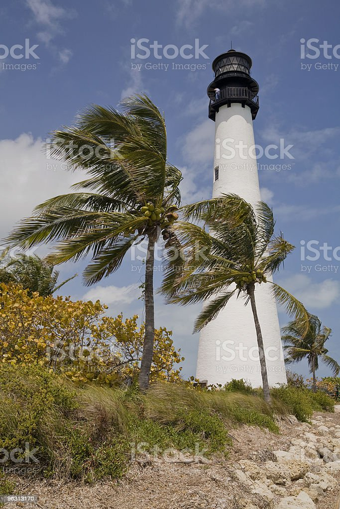 cape florida lighthouse (XL) stock photo