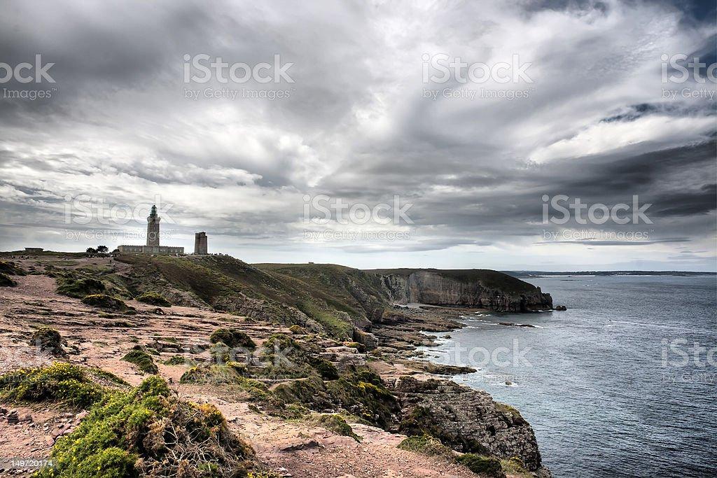 Cape Frehel - Brittany stock photo