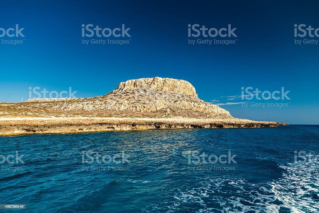 Cape Greco stock photo