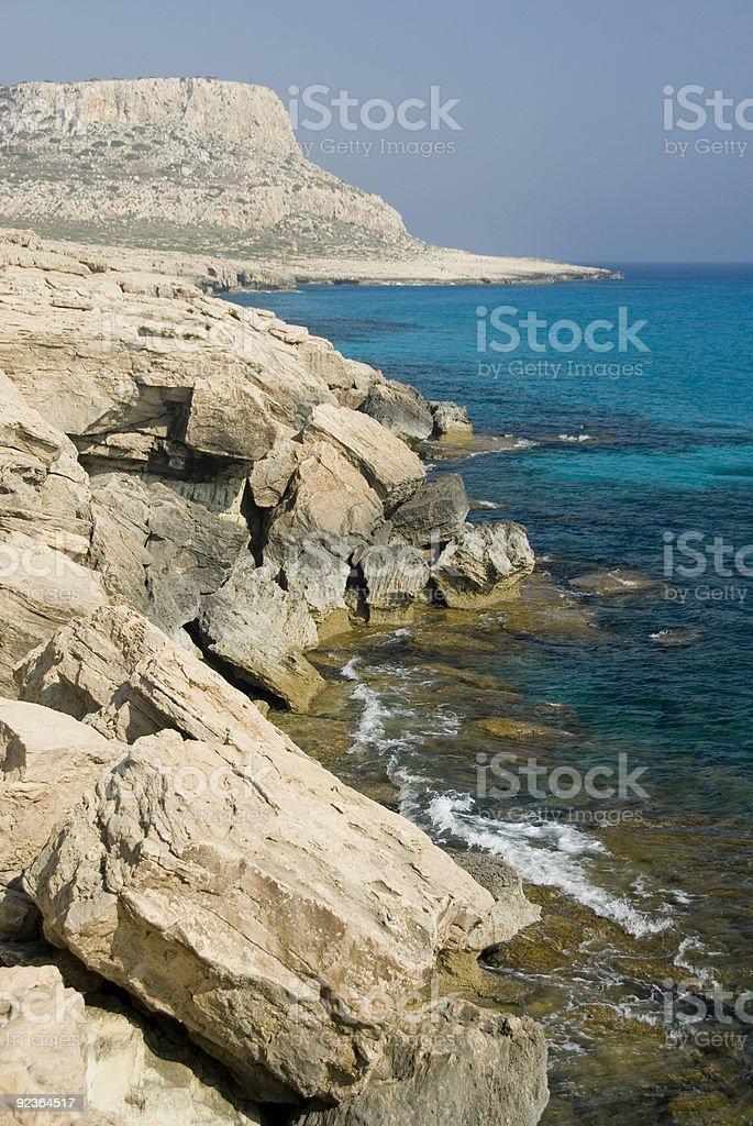 Cape Greko, Cyprus stock photo