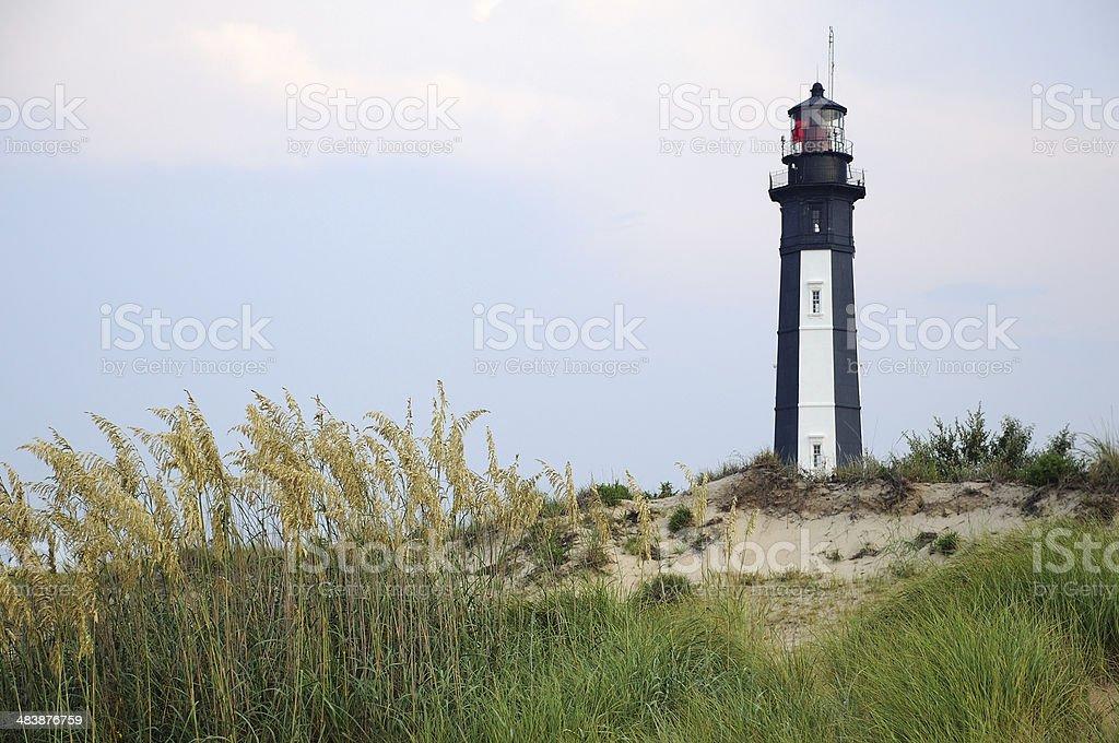 Cape Henry Lighthouse stock photo