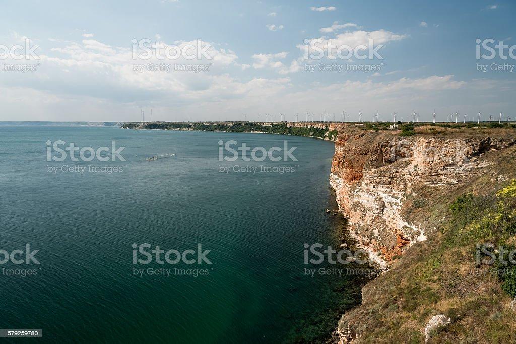 Cape Kaliakra, Bulgaria stock photo