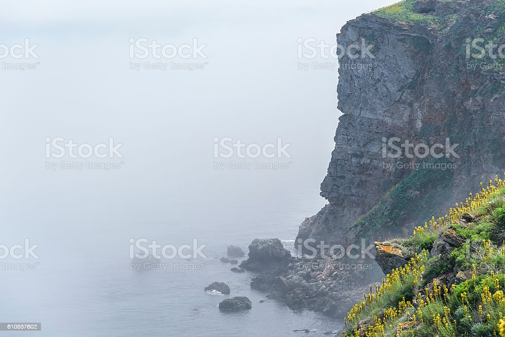 Cape Kaliakra, Bulgaria. stock photo