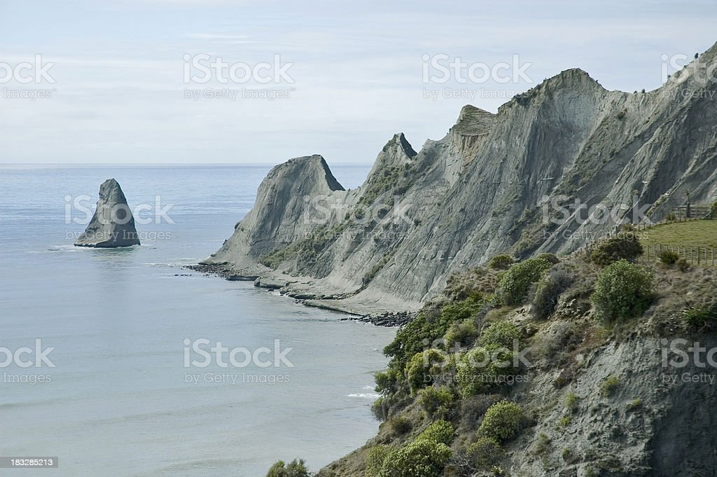 Cape Kidnappers stock photo