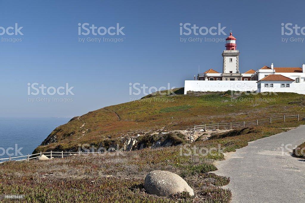 Cape Lighthouse royalty-free stock photo