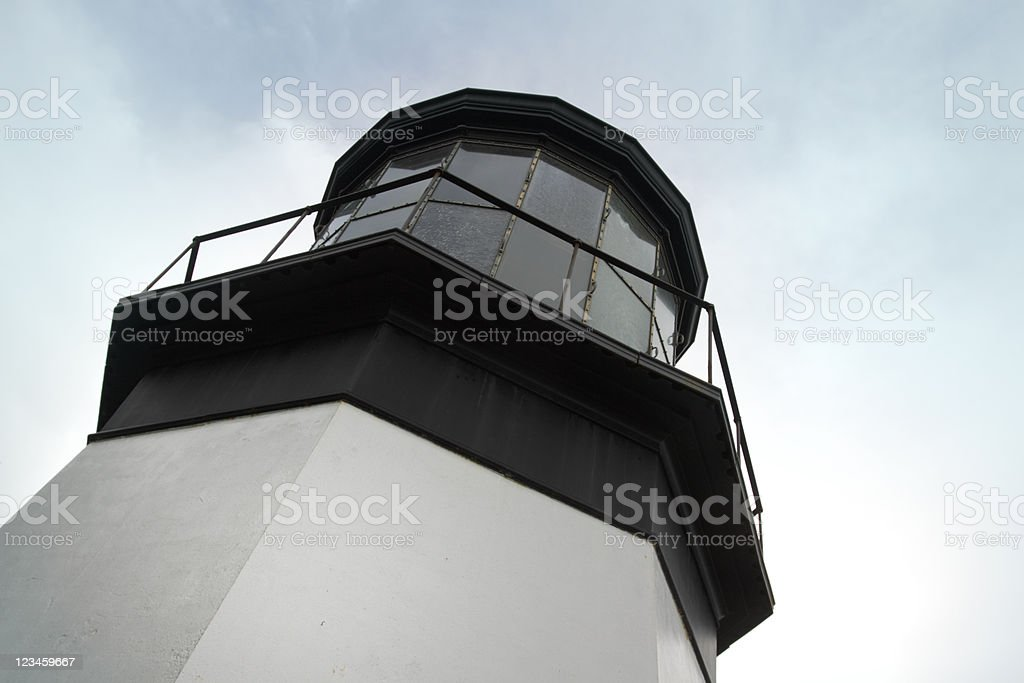 Cape Meares Lighthouse, Oregon Coast royalty-free stock photo
