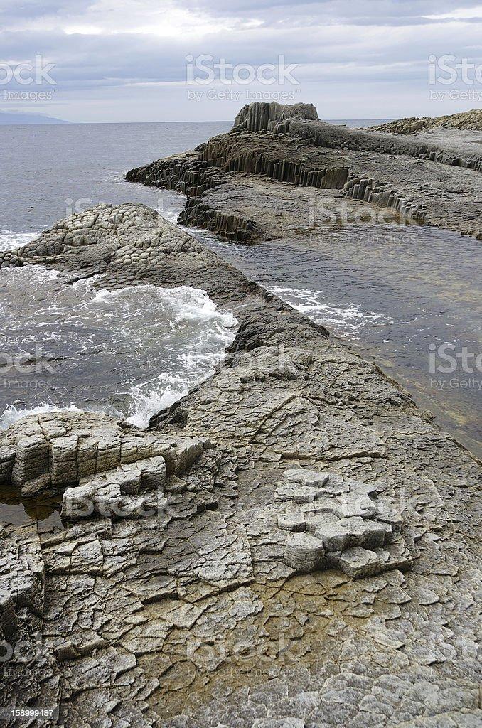 Cape of column stone royalty-free stock photo