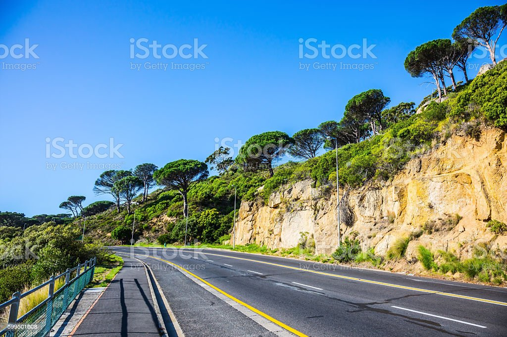 Cape of Good Hope in the Atlantic stock photo