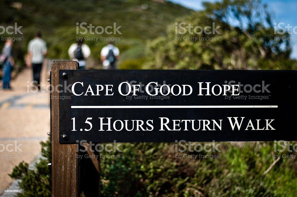Cape of Good Hope Walk stock photo