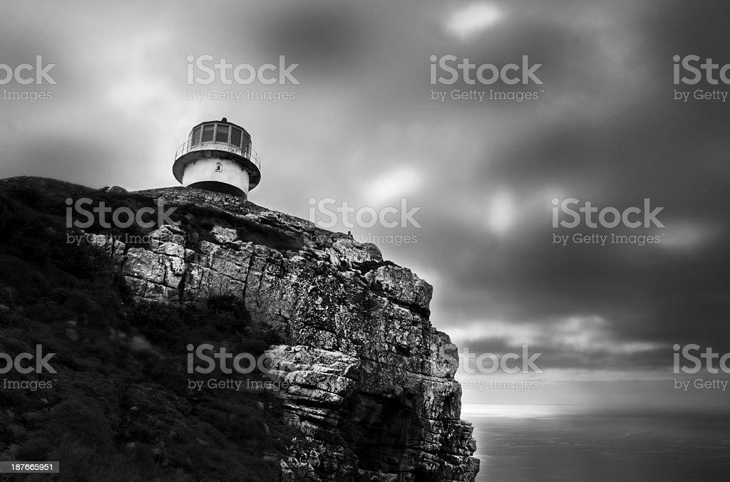 Cape of good lighthouse stock photo
