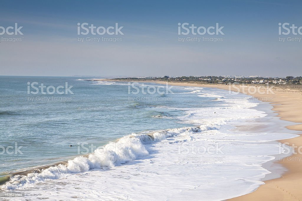 Cape of Trafalgar royalty-free stock photo