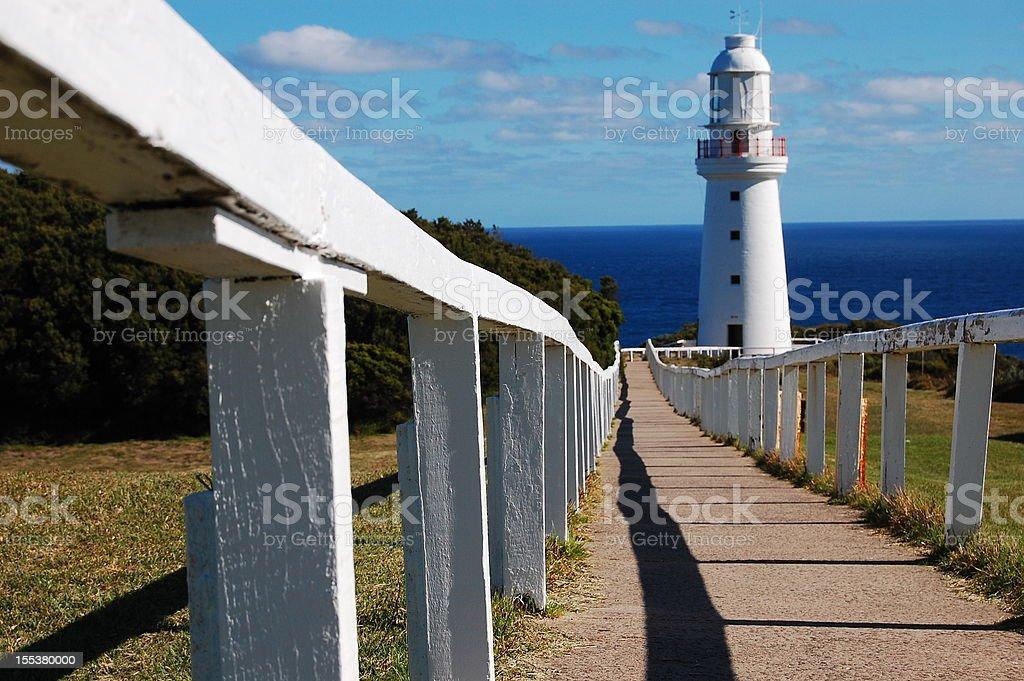 Cape Otway Lighthouse royalty-free stock photo