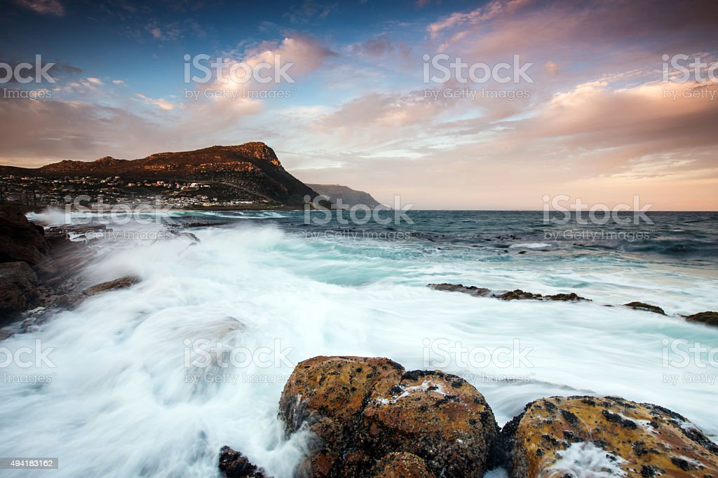 Cape Peninsula Seascape stock photo