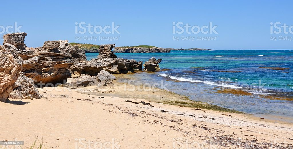 Cape Peron Beach stock photo