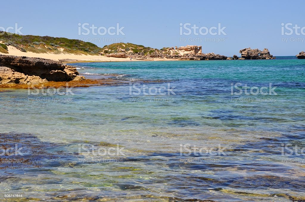 Cape Peron: Colors of the Indian Ocean stock photo