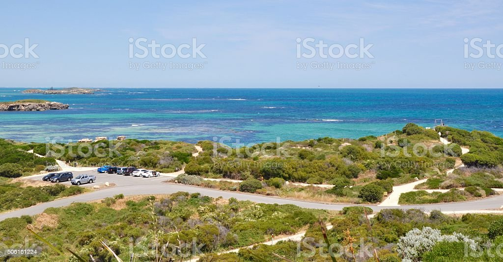 Cape Peron Landscape stock photo