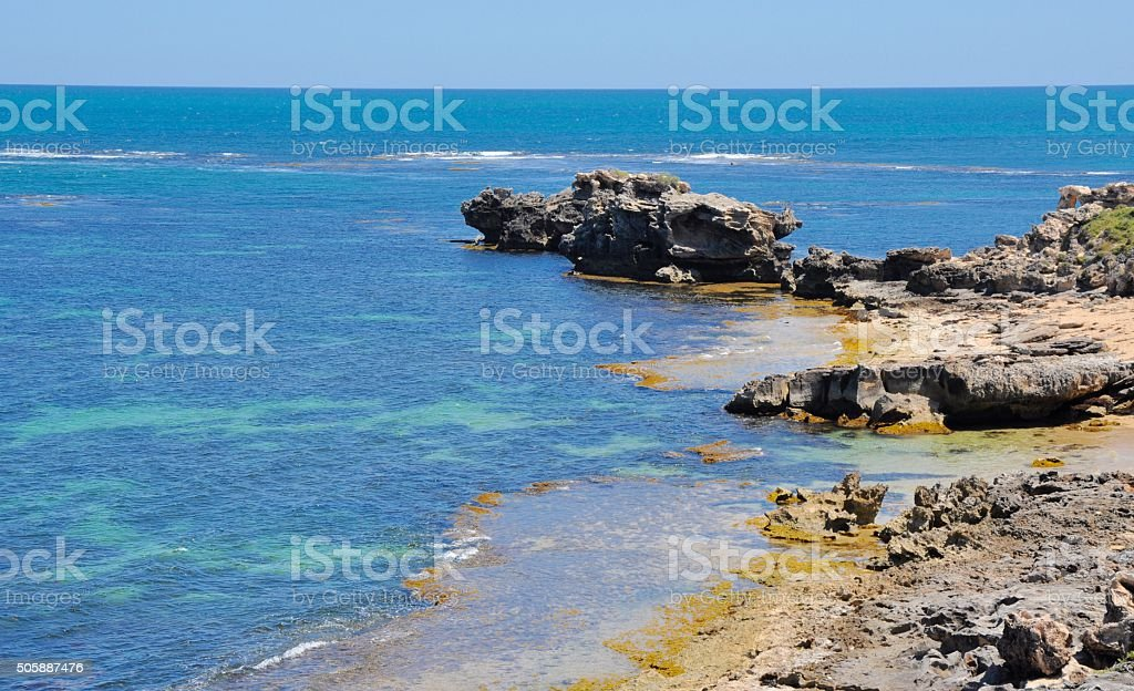Cape Peron: Turquoise Ocean stock photo