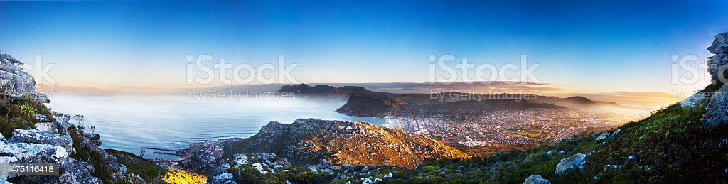 Cape Point Cape town South Africa stock photo