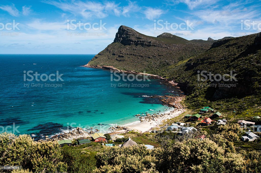 Cape Point shoreline stock photo