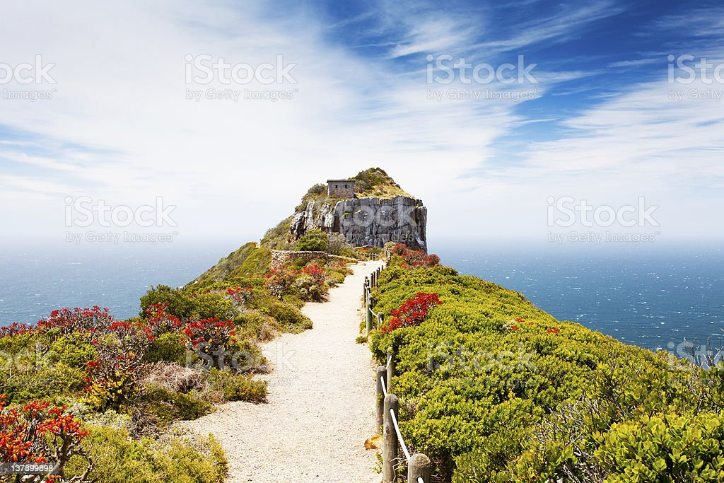 cape point, south africa stock photo
