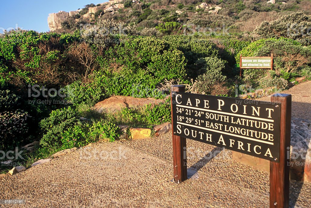 Cape Point - South Africa stock photo