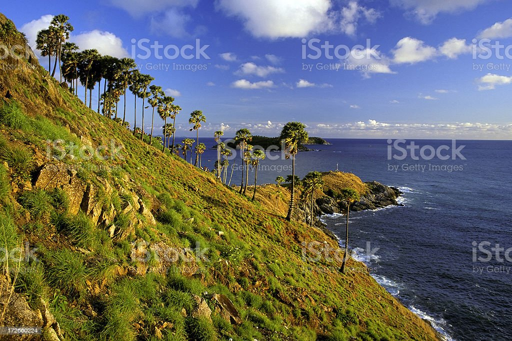cape promthep phuket stock photo