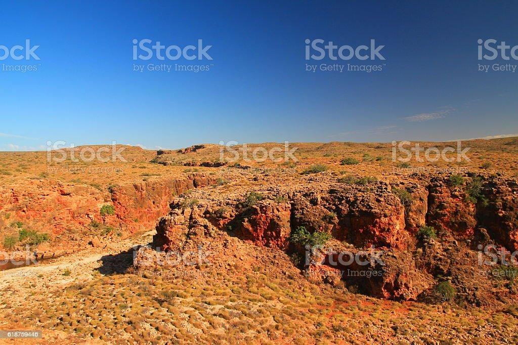 Cape Range, Australia stock photo